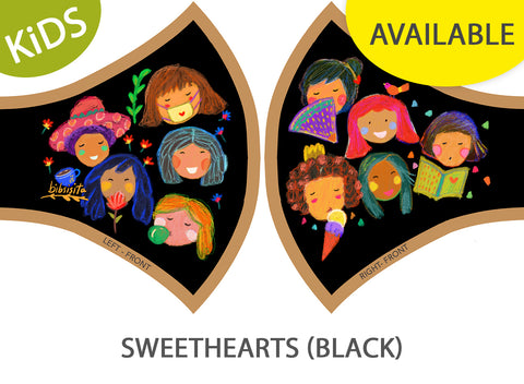 SWEETHEARTS - BLACK (kids)