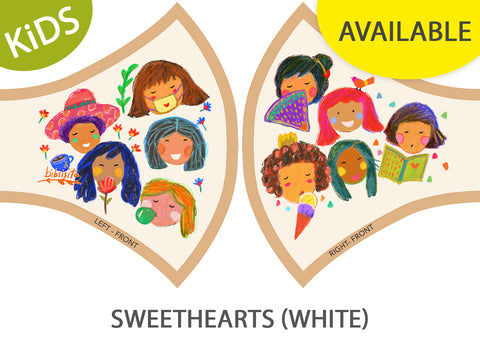 SWEETHEARTS - WHITE (kids)