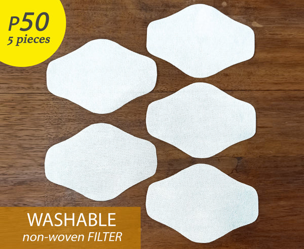 WASHABLE FILTER (5 pieces)