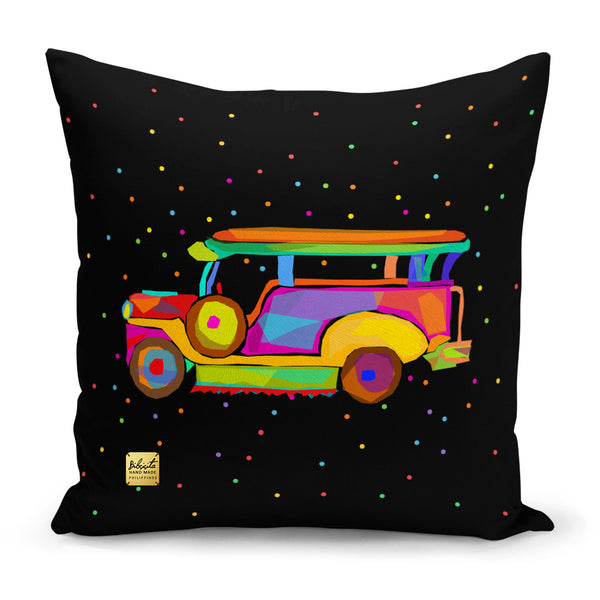 Jeepney Black - Dotted