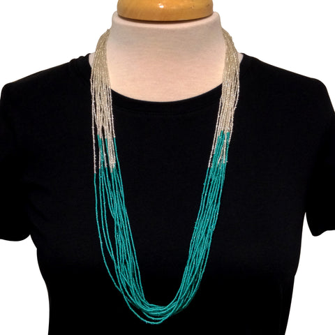 Sabitri Necklace - Teal