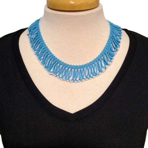 Giri Necklace - Baby Blue