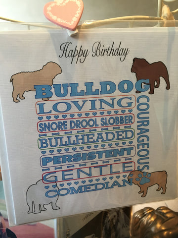 Happy Birthday Bulldog
