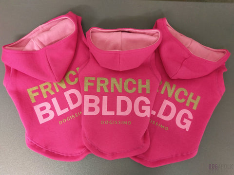 Dogissimo FRNCH BLDG Frenchie Hoodie