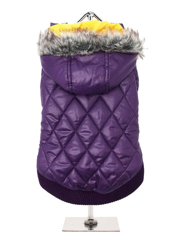 Urban Pup Thermo Purple Quilted Parka