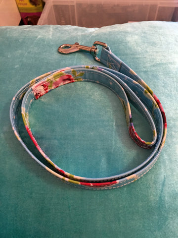 Cath Kidston Style Collar and Lead Set