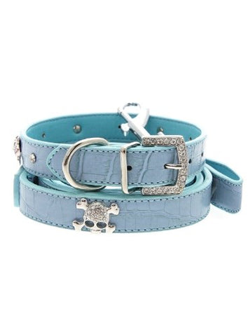 Alligator Diamante Dog Lead