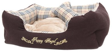 Puppy Angel London Calling Bed, Medium, Beige