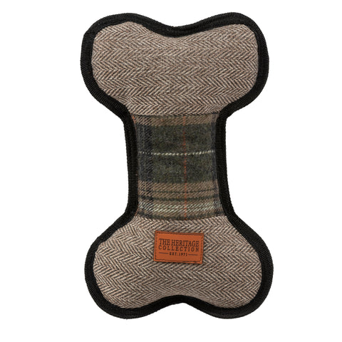Ancol Heritage Tweed Bone Toy