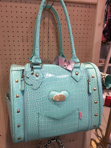 urban pup turquoise  dog carrier