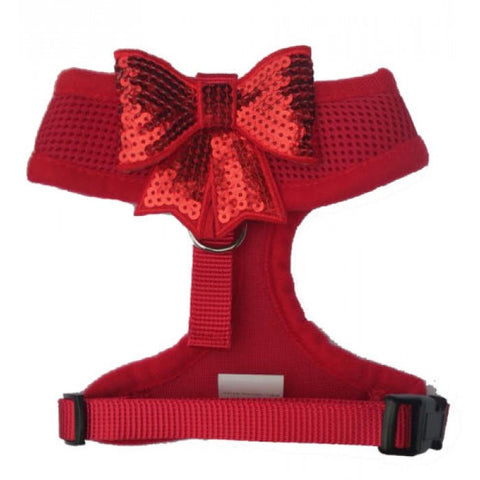 Red Sequin Bow Harness