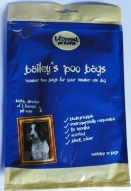 T. Forrest Bailey's Biodegradable Poop Bags
