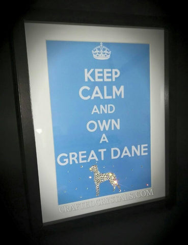 SWAROVSKI Keep Calm Framed Prints