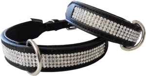Dazzle Diamante Dog Collar