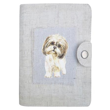 Field & Fur Bobby Linen Notebook