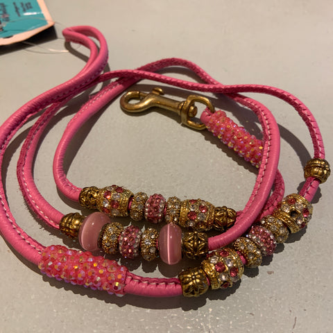 Stephanie Smith Show Double Encrusted Lead in Pink