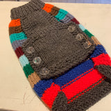 Striped Hand-Knitted Jumpers
