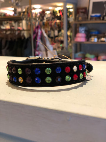 Rainbow Diamante Collar