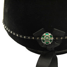Diamante Horse Riding Hat Band