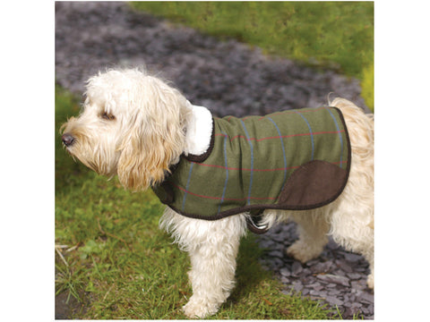 County Tweed Dog Coat