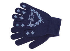 Riding Gloves with Print