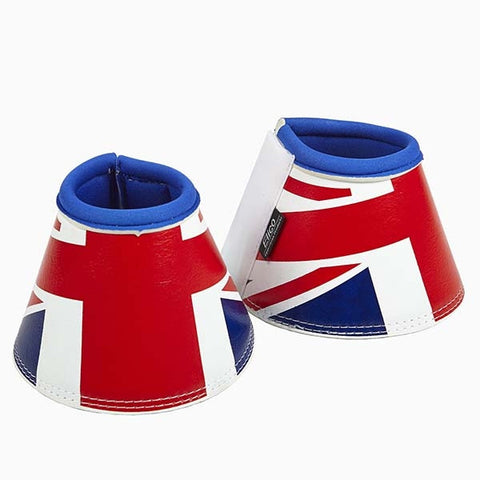 Union Jack Over Reach Bell Boots