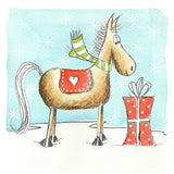 Silly Filly Chistmas Cards