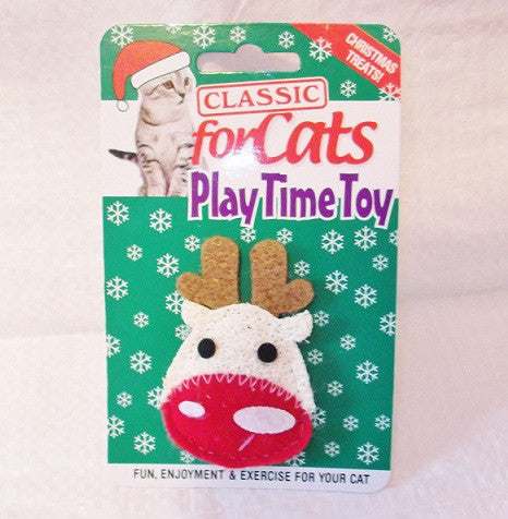 GoodGirl Christmas Loofah Cat Toy