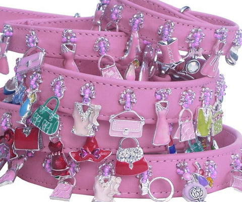 Holly & Lil Girls Just Wanna Have Fun Charm Collar