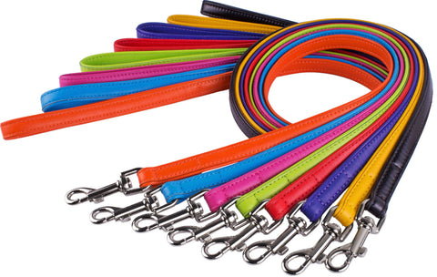 Soft Padded Leather Lead