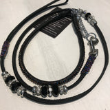 Stephanie Smith Swarovski Black Show Lead Set