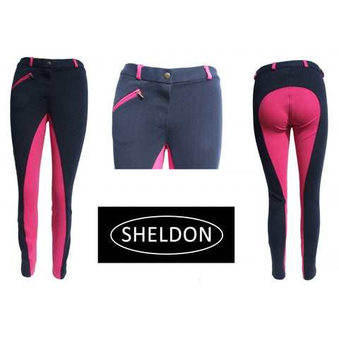 Ladies Cozi Two Tone Jodhpurs