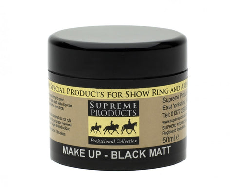 Matt Black Make Up