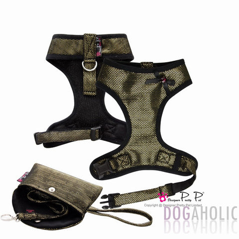 3 Piece Pretty Pet Harness Set