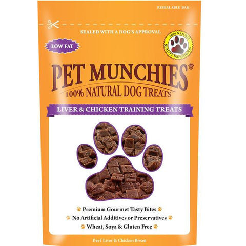 Pet Munchies Liver & Chicken Training Treats