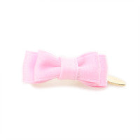 Puppy Angel Beautiful Pink Bow Hair Pin