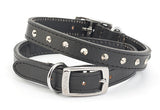 Studded Leather Collar