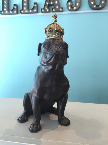 Royal Pug Ornament