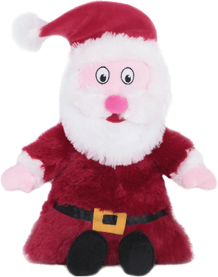 Animate Giant Christmas Santa Dog Toy
