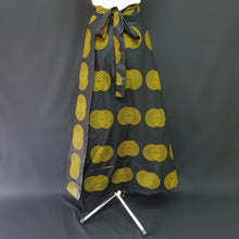 Load image into Gallery viewer, Black and Yellow African Skirt