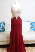 Load image into Gallery viewer, Red Bodycon Evening Dress