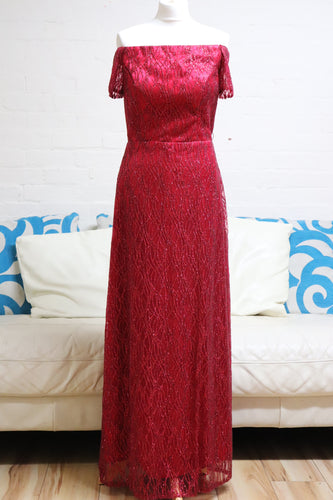 Red Sequin Prom Dress - Cerrura Fashions