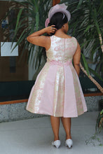 Load image into Gallery viewer, Short Pink Dress with Pleats