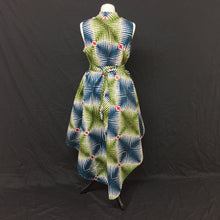 Load image into Gallery viewer, Multi African Print Flared Dress