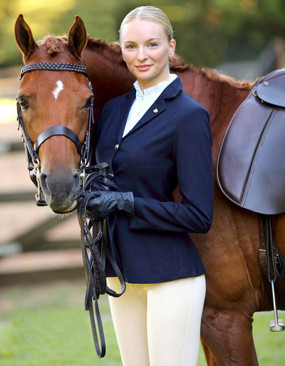 Navy Ladies Ladies Show Jacket