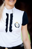 Navy Frilly Filly Competition Shirt