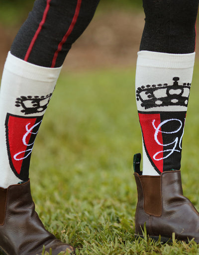 Ladies Chelsea Long Horse Riding Socks