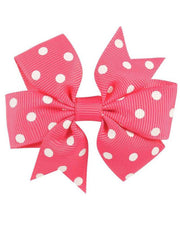 Girls Polka Dot Hair Bows - giddyupgirl horse riding gear & equestrian clothing