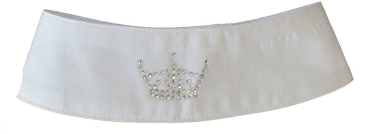 Crown Motif Adjustable Bling Collar - giddyupgirl horse riding gear & equestrian clothing