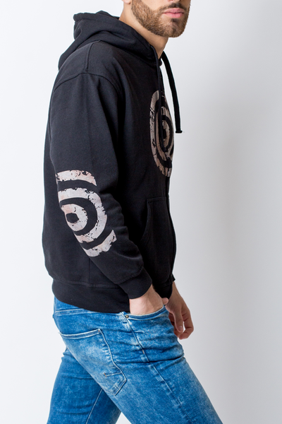 Sweatshirt Concentric Circles